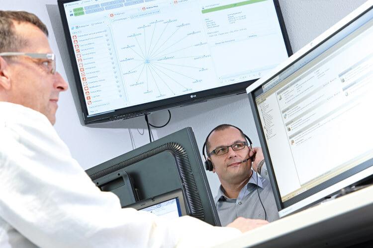 Damit Ihre Systeme sicher und zuverlässig funktionieren, bieten Ihnen unsere Fachleute umfassende Unterstützung.