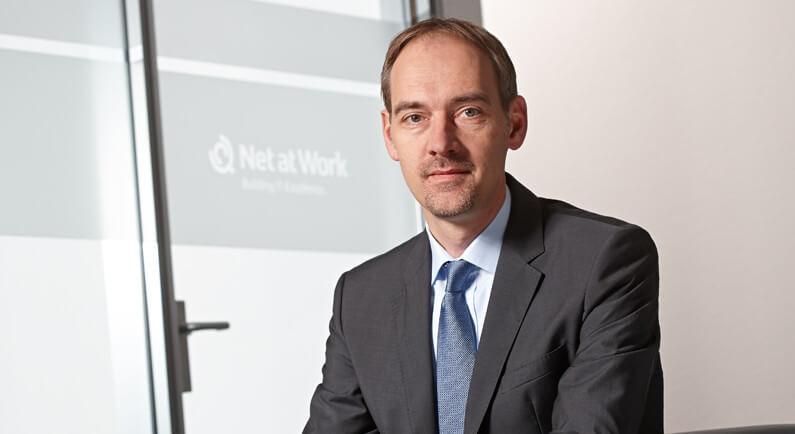 Uwe Ulbrich, Geschäftsführer der Net at Work GmbH.