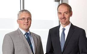Uwe Ulbrich, Geschäftsführer und Frank Carius, Gesellschafter von Net at Work.