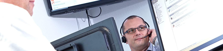 Mehr Sicherheit für Ihren IT Betrieb erhalten Sie durch vereinbarte Servicezeiten.