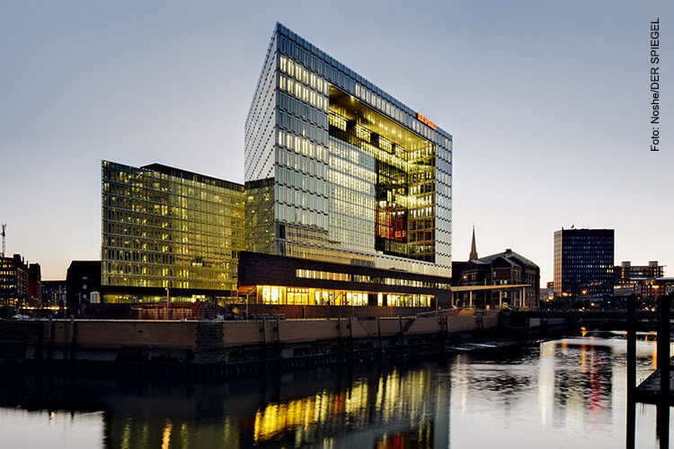 Spiegel Verlag - Arbeitsplatz der Zukunft mit Microsoft Office 365.