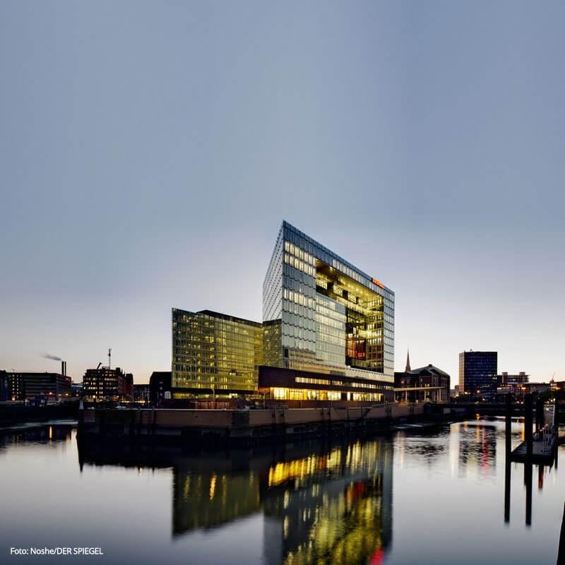 Spiegel Verlag - Arbeitsplatz der Zukunft mit Office 365.