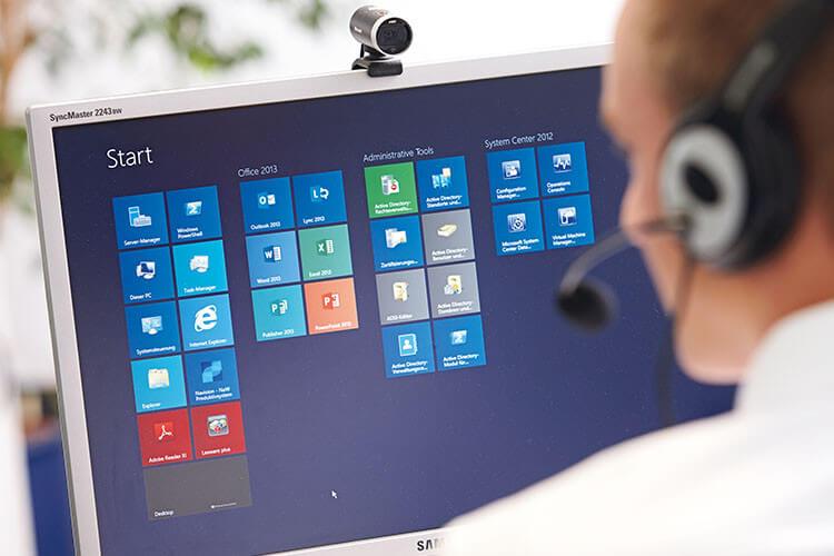 Unsere Mitarbeiter verfügen über die aktuellen Microsoft-Zertifizierungen und jahrelange Erfahrung.