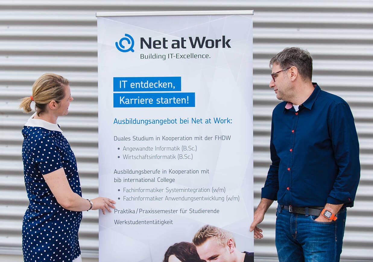 IT entdecken, Karriere starten - Daniela Henkenötter und Bernd Hüffer