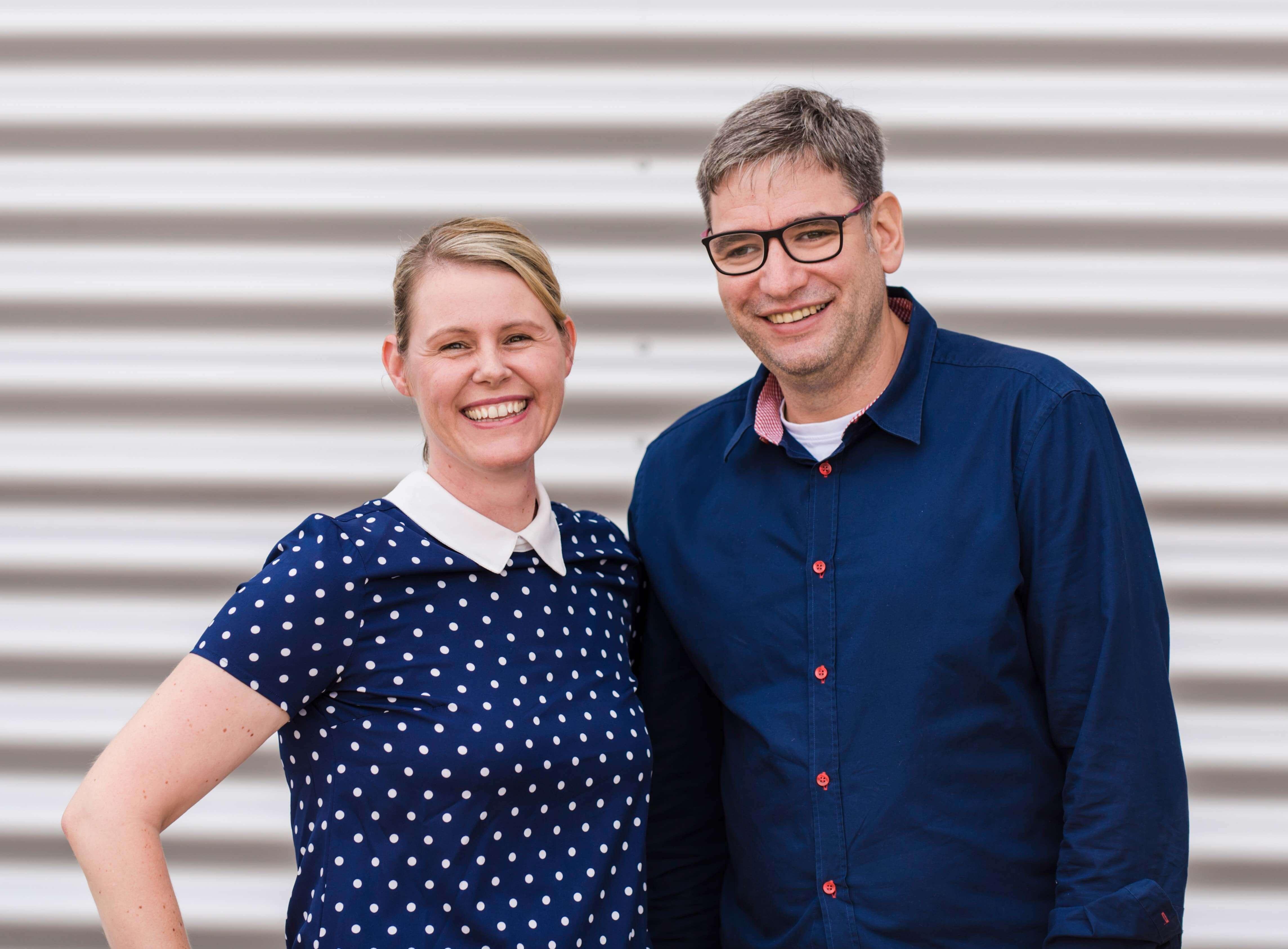 Daniela Henkenötter und Bernd Hüffer