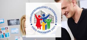 """Net at Work ist """"Familienfreundliches Unternehmen Kreis Paderborn 2021"""""""