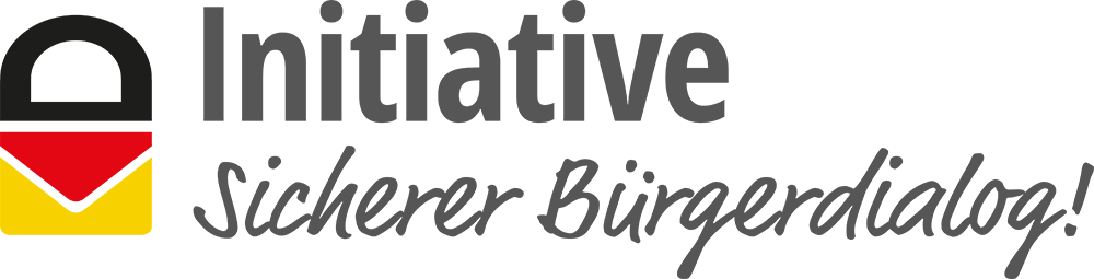 Logo Initiative Sicherer Bürgerdialog