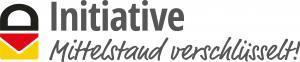 E-Mail-Verschlüsselung Logo Initiative Mittelstand verschlüsselt!