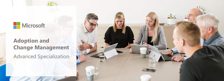 Net at Work erhält Microsoft Partner Adoption and Change Management Advanced Specialization