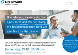Flyer Net at Work Karrieretag