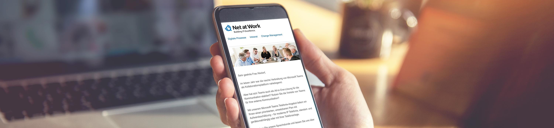 Newsletter Net at Work