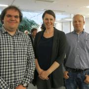 Gestern stellten unsere Consultants Lars und Stefan im Heinz-Nixdorf-Institut vor rund 30 interessierten Studierenden die Möglichkeiten der Versionsverwaltung mit Git vor.