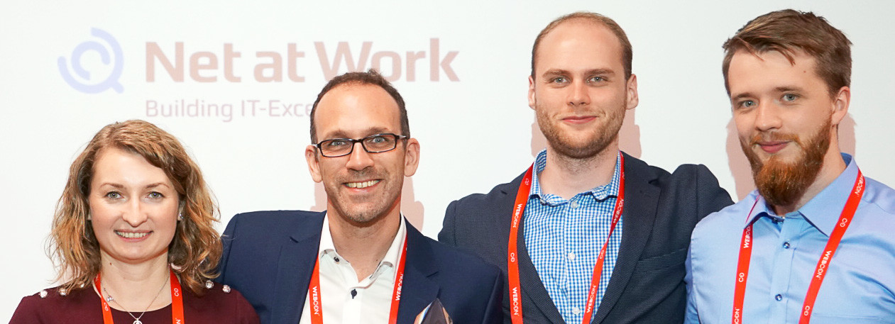 Net at Work sichert sich erneut Award auf WEBCON Partner Day