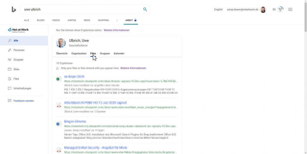 Bing-Suchergebnisse Files