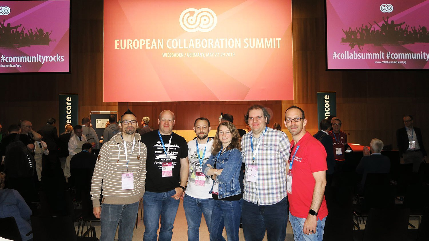 European Collaboration Summit 2019 Net at Work Team