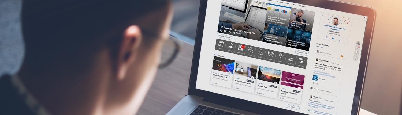 Intranet - Ihr Digital Workplace für Microsoft 365