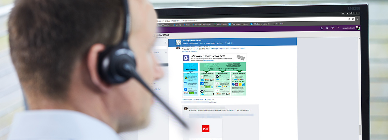Karriere als Junior IT Support-Techniker für Microsoft Lösungen