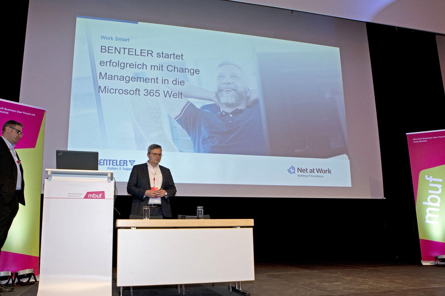 Microsoft Business User Forum 2019 Vortrag Benteler und Net at Work