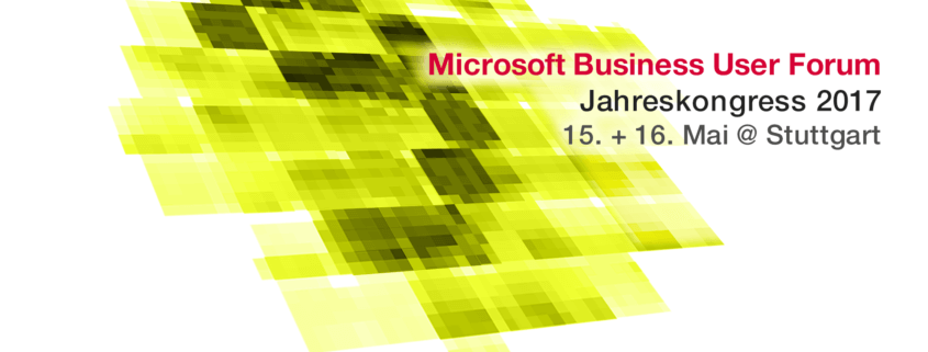 Jahreskongress Microsoft Business User Forum