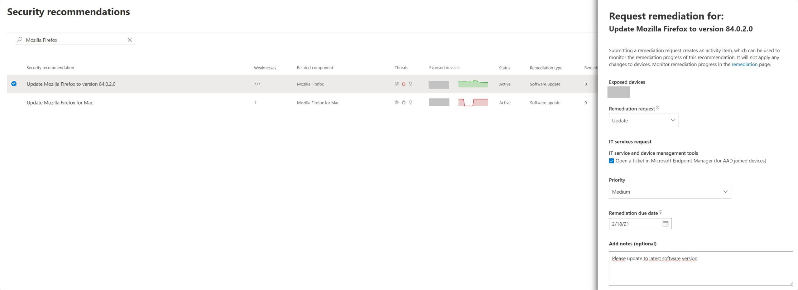 Behebung einer Sicherheitslücke im Microsoft Endpoint Manager (1)