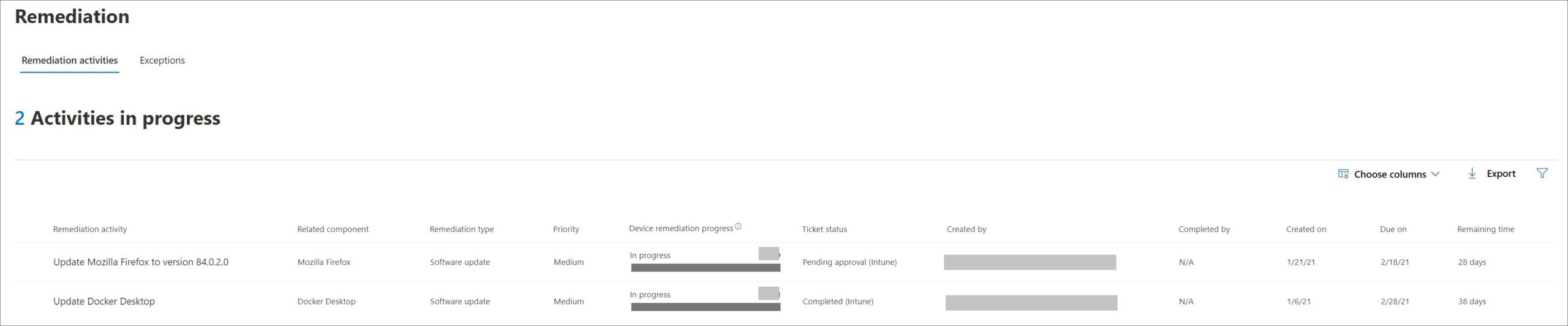 Behebung einer Sicherheitslücke im Microsoft Endpoint Manager (2)