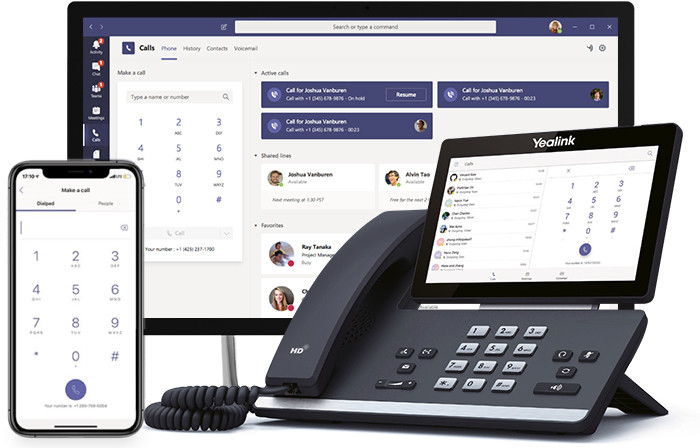 Microsoft Teams Telefonie Geräte