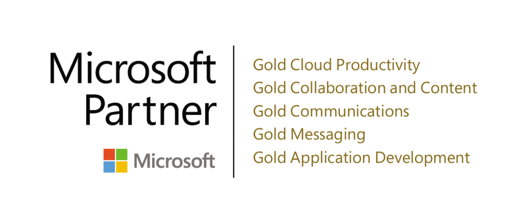 Microsoft Gold Partner Logo Net at Work