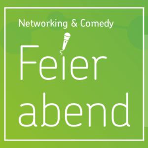 Logo Feierabend Networking & Comedy