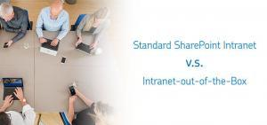 Intranet SharePoint Standard vs. Out-of-the-Box