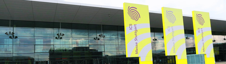 ICS Messe Stuttgart Gebäude