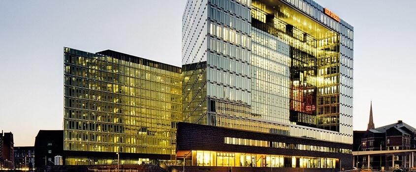 Gebäude des Spiegel-Verlags in Hamburg