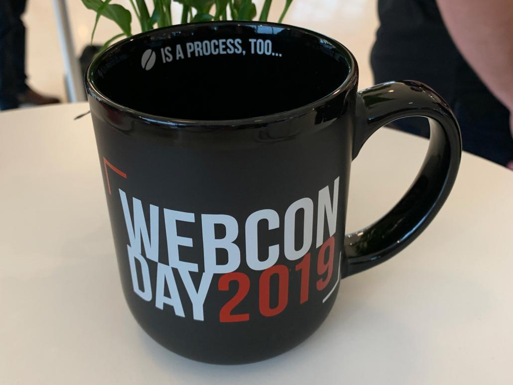 Tasse WEBCON Partner Day 2019
