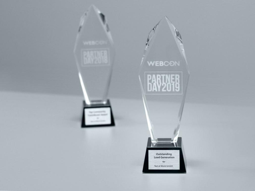 Award WEBCON Partner Day 2019