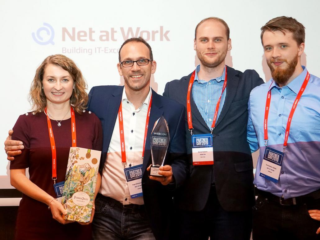 Net at Work Team WEBCON Partner Day 2019